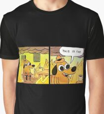 This is Fine  Graphic T-Shirt