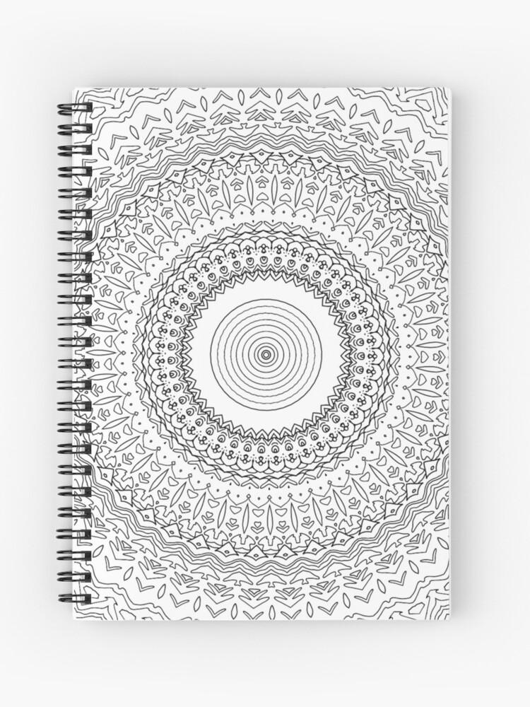 Dibujos Para Colorear Para Adultos Cuaderno De Espiral