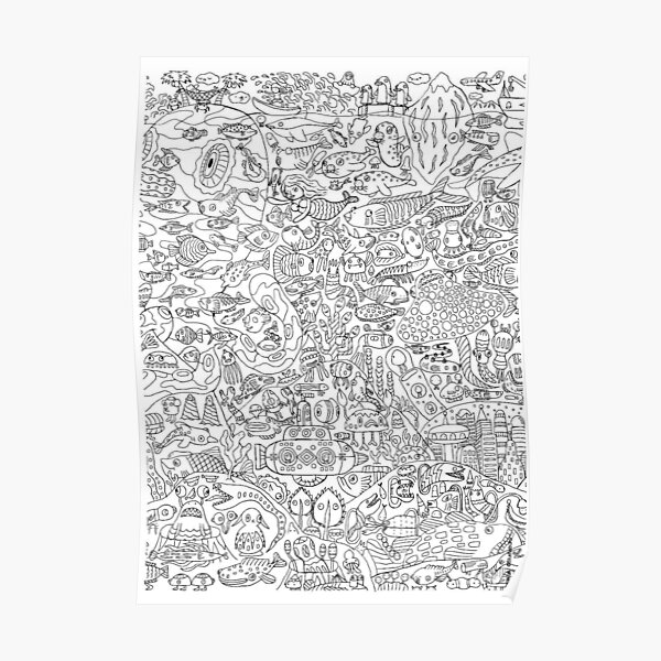 - Adult Coloring Posters Redbubble