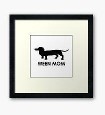 Ween Mom (Black) Framed Print