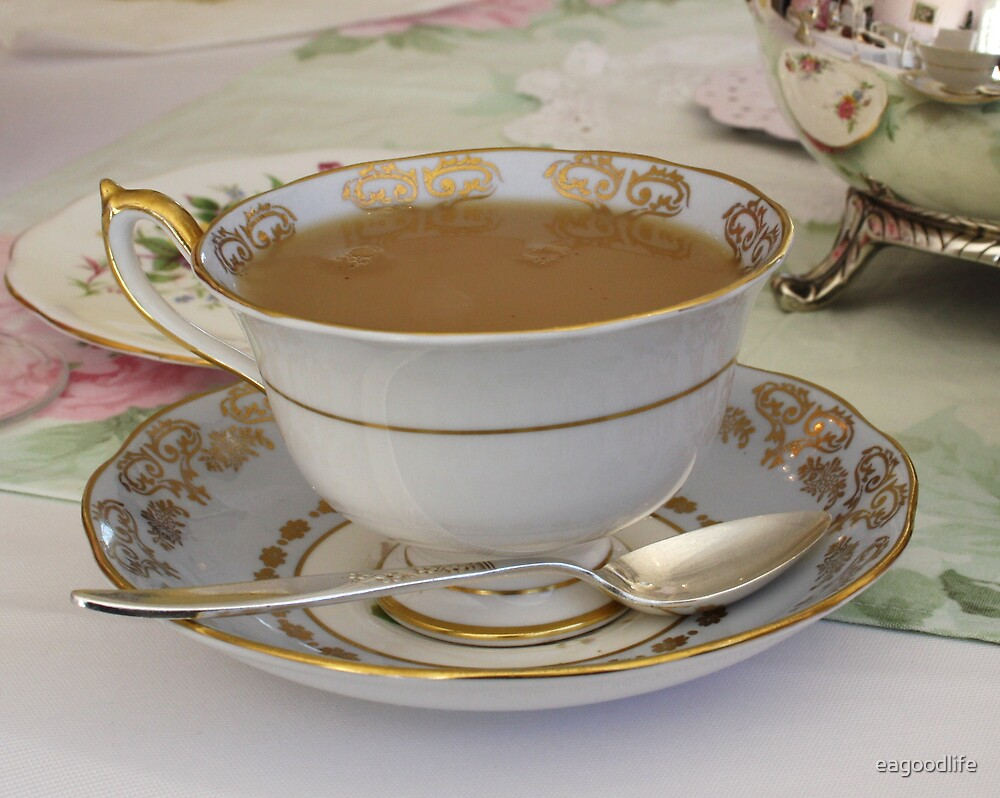 A Perfect Cup of tea by eagoodlife
