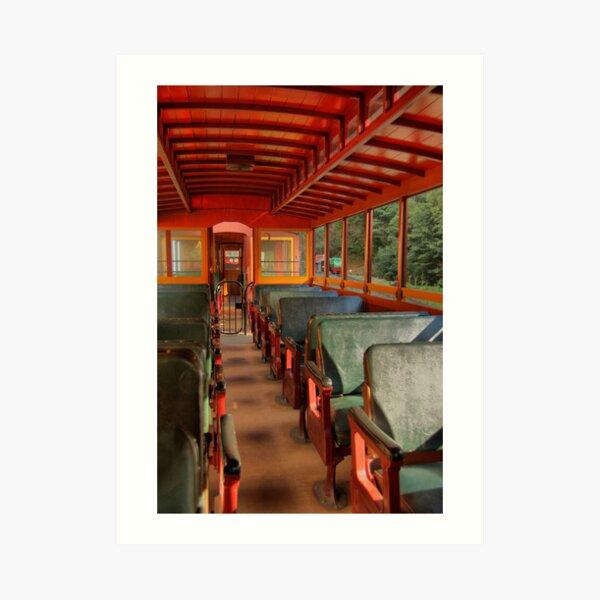 Red Rattler Art Print