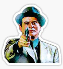 Joe Pesci mafia gangster movie Goodfellas painting Sticker