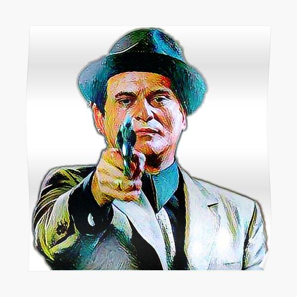 Joe Pesci mafia gangster movie Goodfellas painting Poster