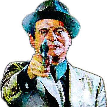 Joe Pesci mafia gangster movie Goodfellas painting by xsdni999