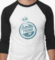 Nonprofit AF, Proud AF Men's Baseball ¾ T-Shirt
