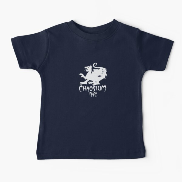 Official Chaosium Inc. Logo (White) Baby T-Shirt