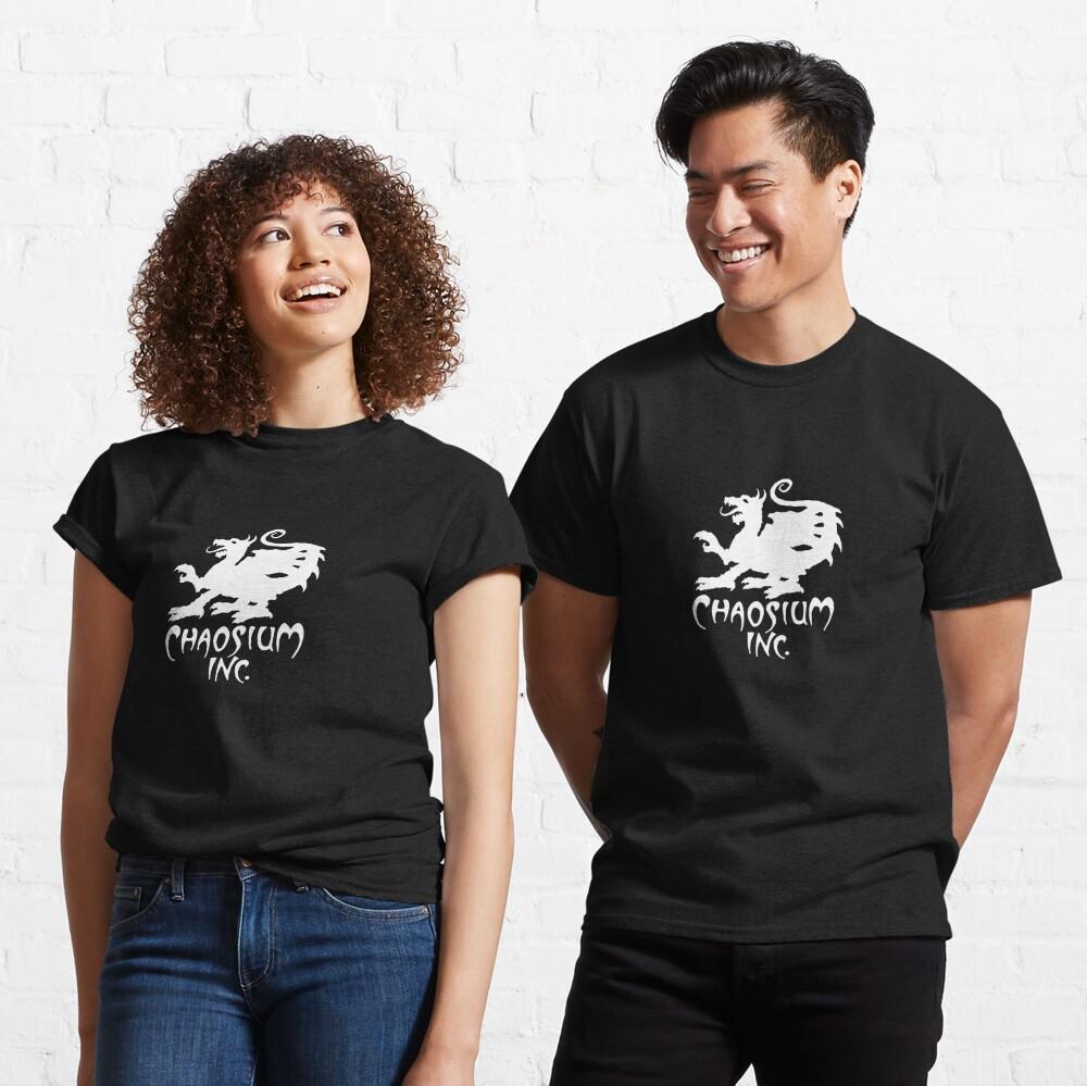 Official Chaosium Inc. Logo (White) Classic T-Shirt