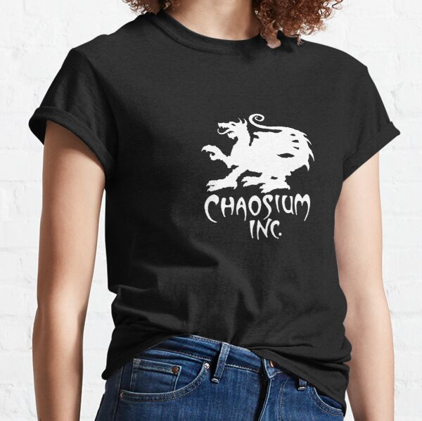 Official Chaosium Inc. Logo (White) Classic T-Shirt