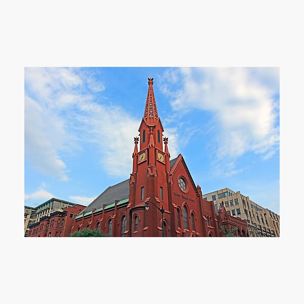 Calvary Baptist Church – President Warren Harding's Church Photographic Print