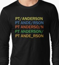 Paul Thomas Anderson Long Sleeve T-Shirt