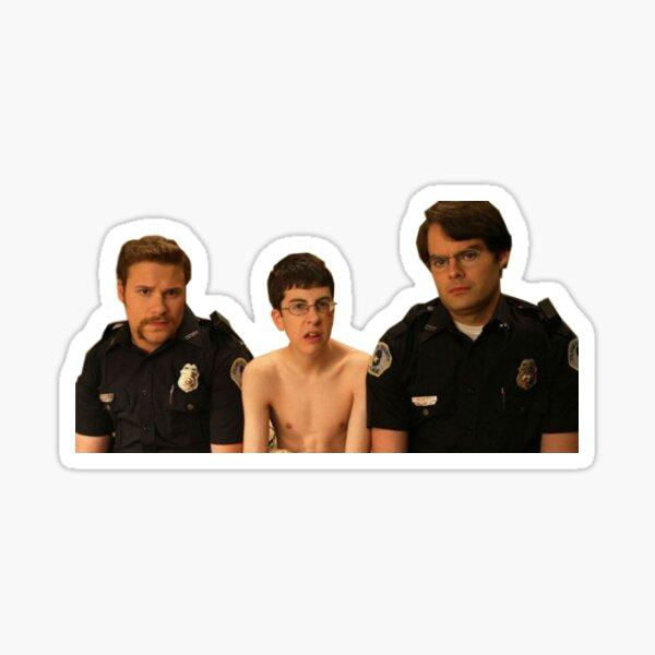 Superbad - Police and McLovin Sticker