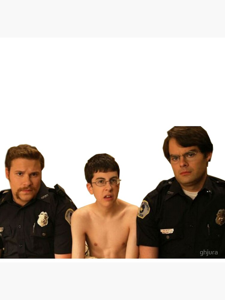 Superbad - Police and McLovin by ghjura
