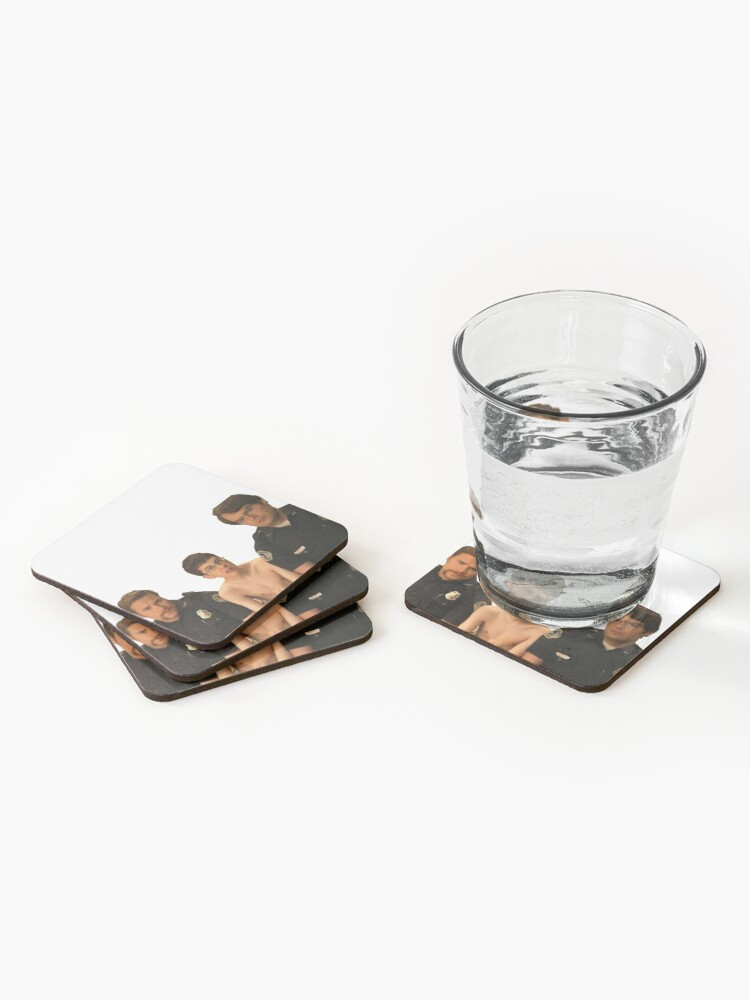Alternate view of Superbad - Police and McLovin Coasters (Set of 4)