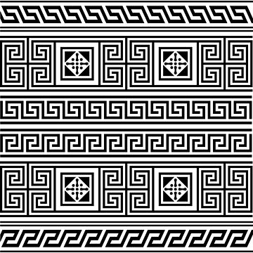 greek pattern2 by stylenn
