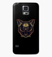 Egyptian Cat with Third Eye Open Case/Skin for Samsung Galaxy