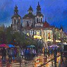 Prague Old Town Square by Yuriy Shevchuk