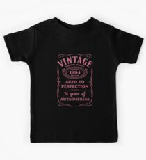 Pink Vintage Limited 1994 Edition - 24th Birthday Gift (2018 Birthday Version) Kids Clothes