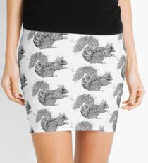 Leaf Squirrel Mini Skirt