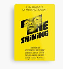The Shining Metal Print