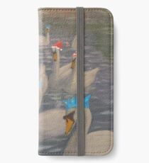 Nene Swans Christmas Party iPhone Wallet/Case/Skin