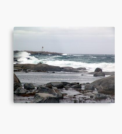 The Light and the Storm Metal Print