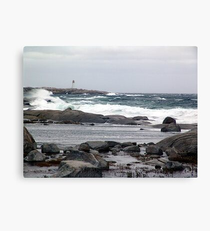 The Light and the Storm Canvas Print