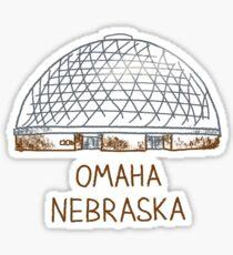 Omaha, Nebraska Sticker