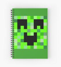 Kawaii Creeper Spiral Notebook