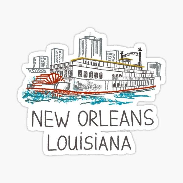 New Orleans, Louisiana Sticker