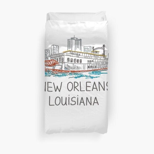 New Orleans, Louisiana Duvet Cover