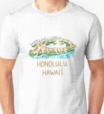 Honolulu, Hawaii Unisex T-Shirt