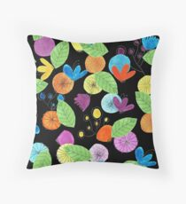 Pattern 1 - Cheerful flowers Throw Pillow