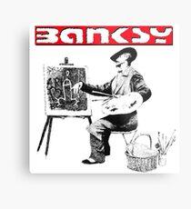 Banksy The Artist Impression métallique