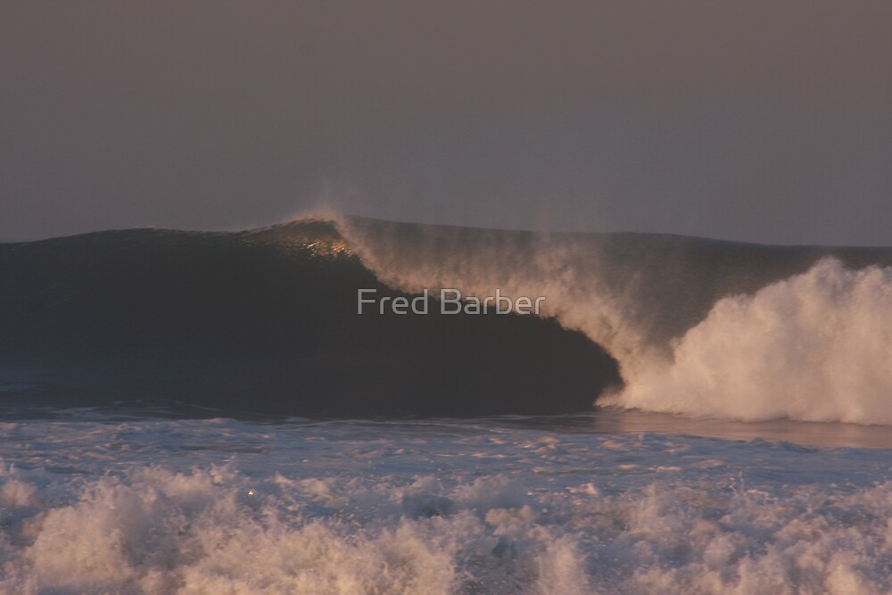 Winter Waves by Fred Barber