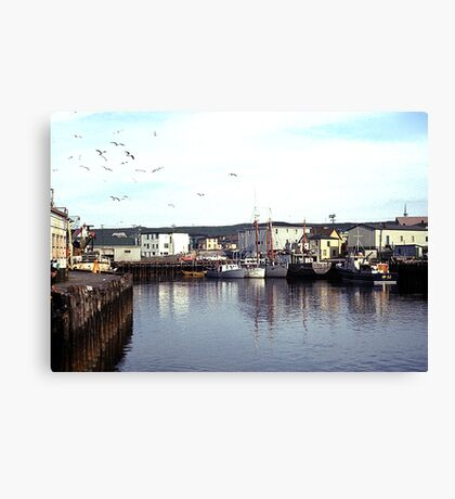 Quiet day in Fortune Canvas Print