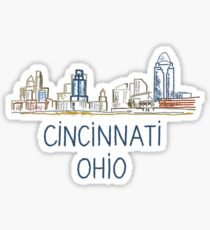 Cincinnati, Ohio Sticker