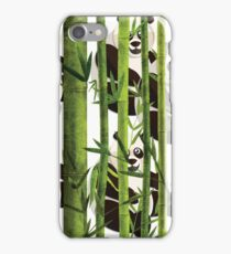 Panda Bear Bamboo Dreaming Design iPhone Case/Skin
