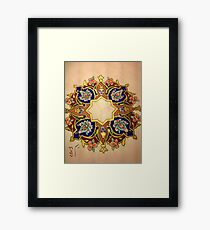 Multicolor Miniatures Framed Print