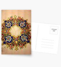 Multicolor Miniatures Postcards