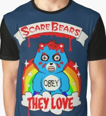 Scare Bears They Love Graphic T-Shirt
