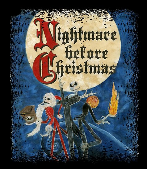 the nightmare before christmas by gedotung - The Nightmare Before Christmas Poster