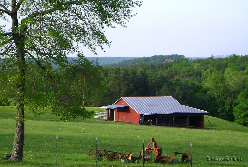 The Little Red Barn by DesignsByDeb