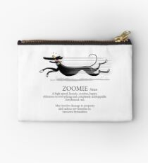 Greyhound Zoomie Studio Pouch
