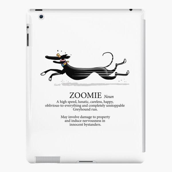 Greyhound Zoomie Funda rígida para iPad