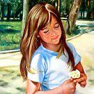 portrait of Mihaela  by Hidemi Tada