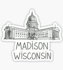 Madison, Wisconsin Sticker