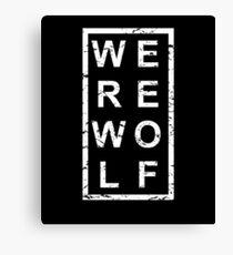 Stylish Werewolf Canvas Print