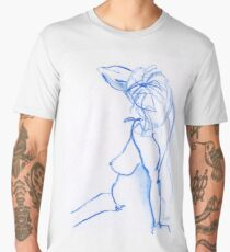 Blue Lady Men's Premium T-Shirt