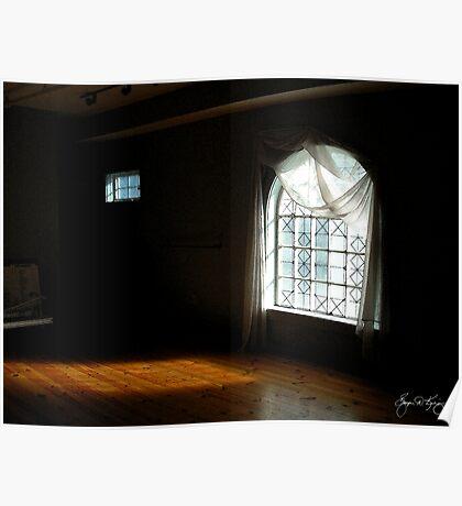 Sunlight Through Two Windows Poster